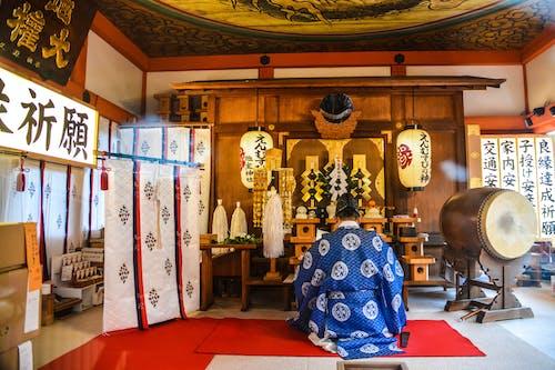 Kostenloses Stock Foto zu anbetung, architektur, buddha