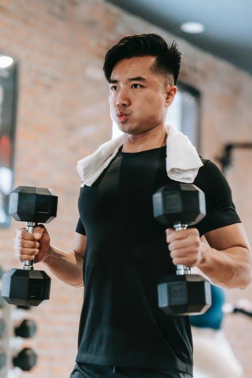 Kostenloses Stock Foto zu anstrengung, asiatischer mann, athlet