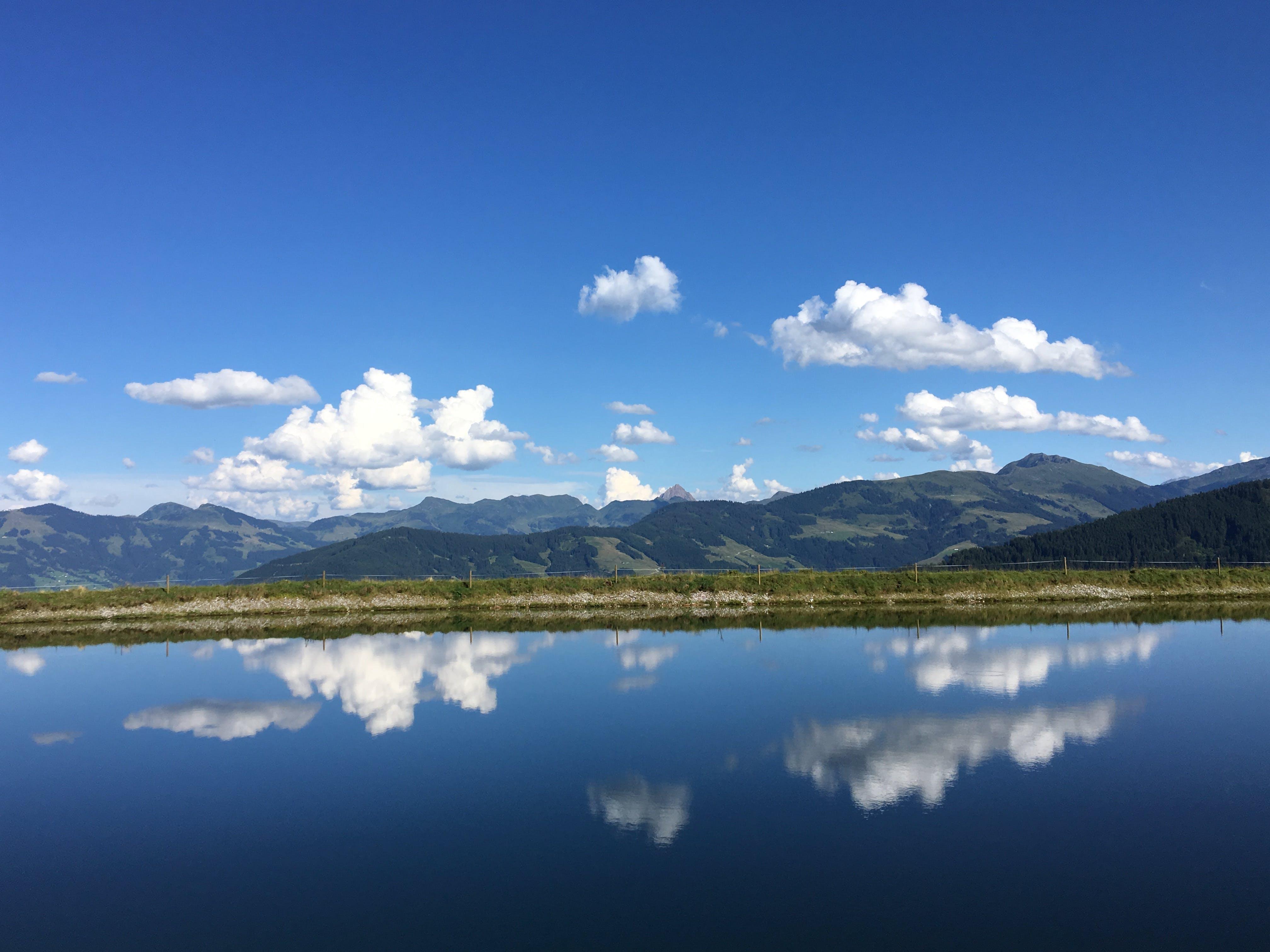 Δωρεάν στοκ φωτογραφιών με bergsee, blau, sonne, tirol
