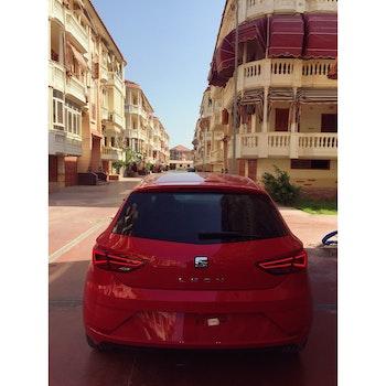 Red Seat Leon