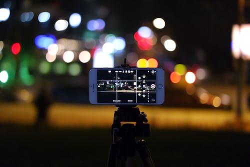 คลังภาพถ่ายฟรี ของ iphoneography, กล้อง, กลางคืน, การถ่ายภาพ