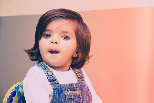 Foto d'estoc gratuïta de bebè, bufó, maco