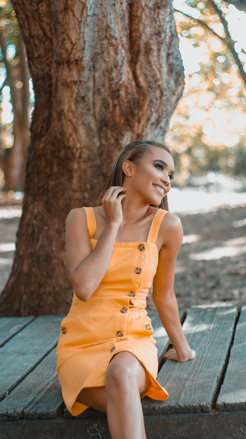 Free stock photo of beautiful smile, happy face, smiling woman
