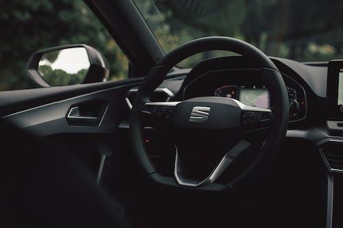 Black Honda Steering Wheel