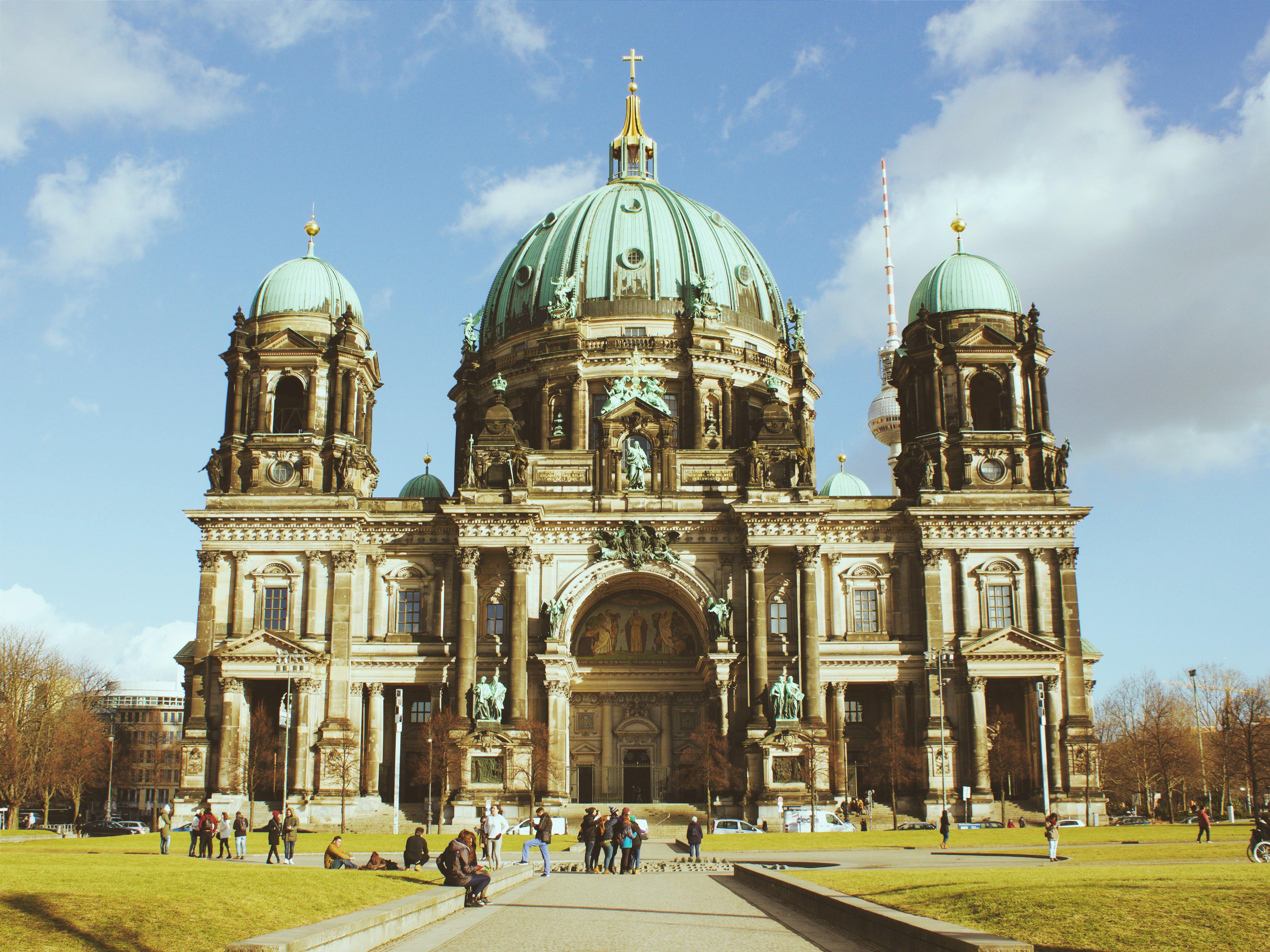 Бесплатное стоковое фото с архитектура, Берлин, берлинский дом, берлинский собор