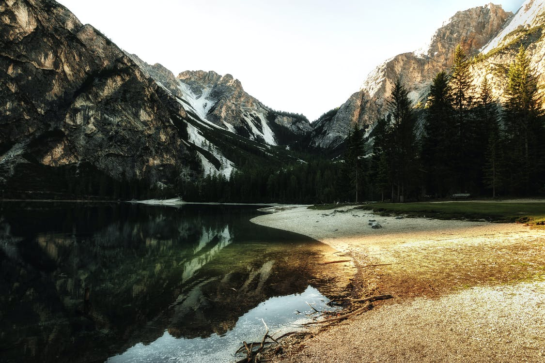 HD шпалери, s, берег озера