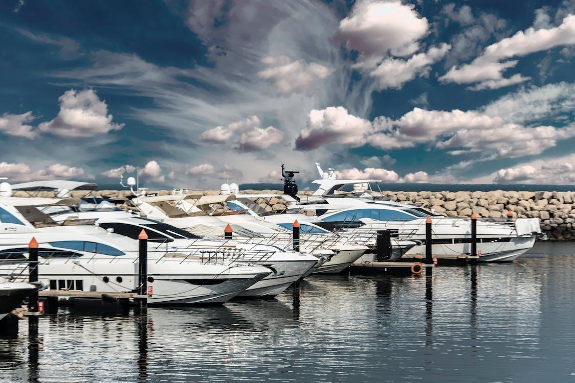 Five White Yacht