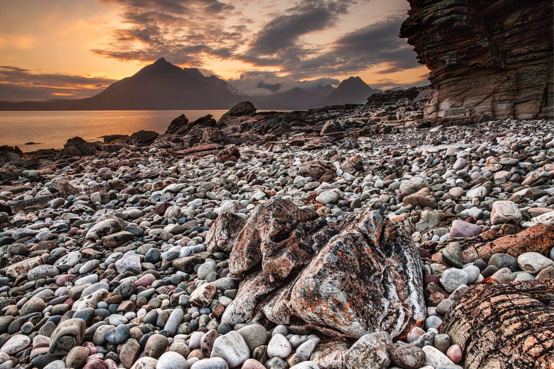 Free stock photo of sea, nature, sky, sunset