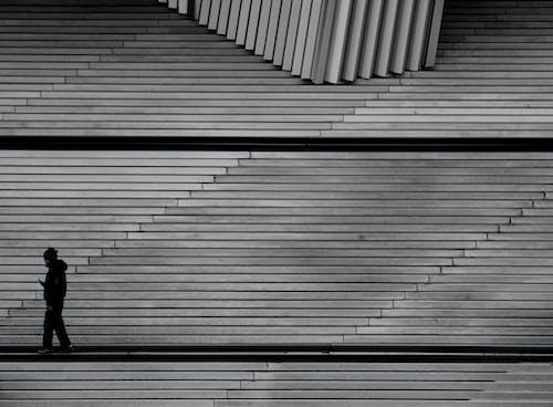 Foto profissional grátis de abstrair, abstrato, aço