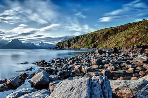 Základová fotografie zdarma na téma hory, kameny, kopec, modrá