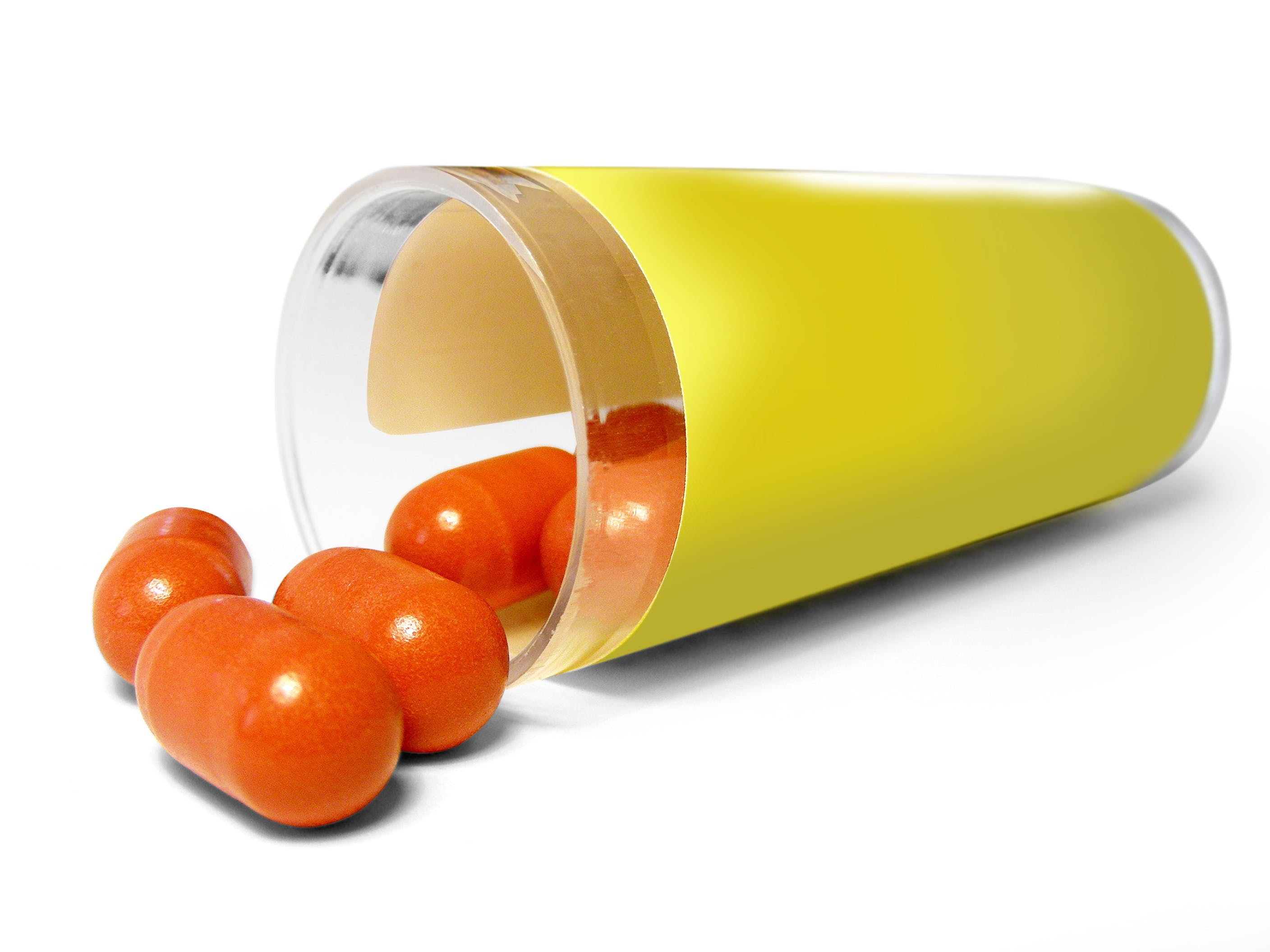 Orange Oval Pills