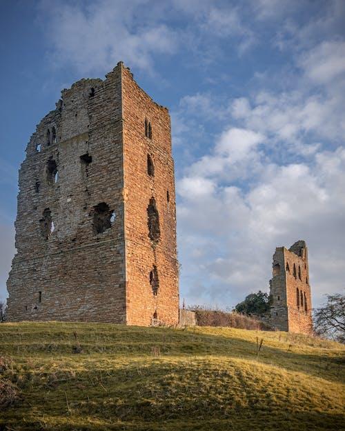 古老的, 哥德式, 城堡 的 免费素材图片