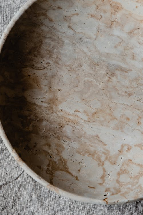 White and Brown Round Table