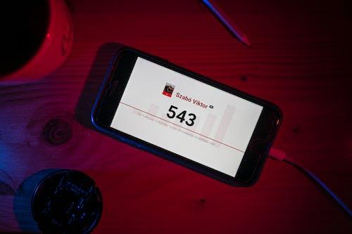 Безкоштовне стокове фото на тему «YouTube, абонентський лічильник, дисплей»