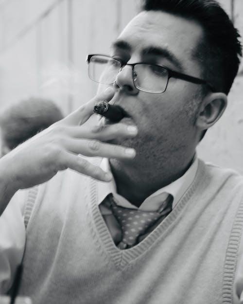 Free stock photo of sean hogan cigar aficionado