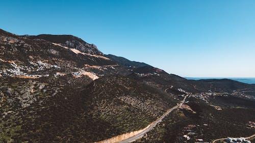 Foto stok gratis alam, gunung, langit biru