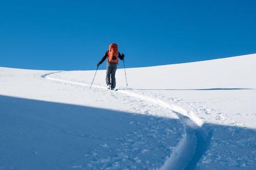 감기, 겨울, 눈, 등산하다의 무료 스톡 사진