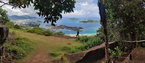 Foto profissional grátis de fundo tropical, ilha da praia, papel de parede estético