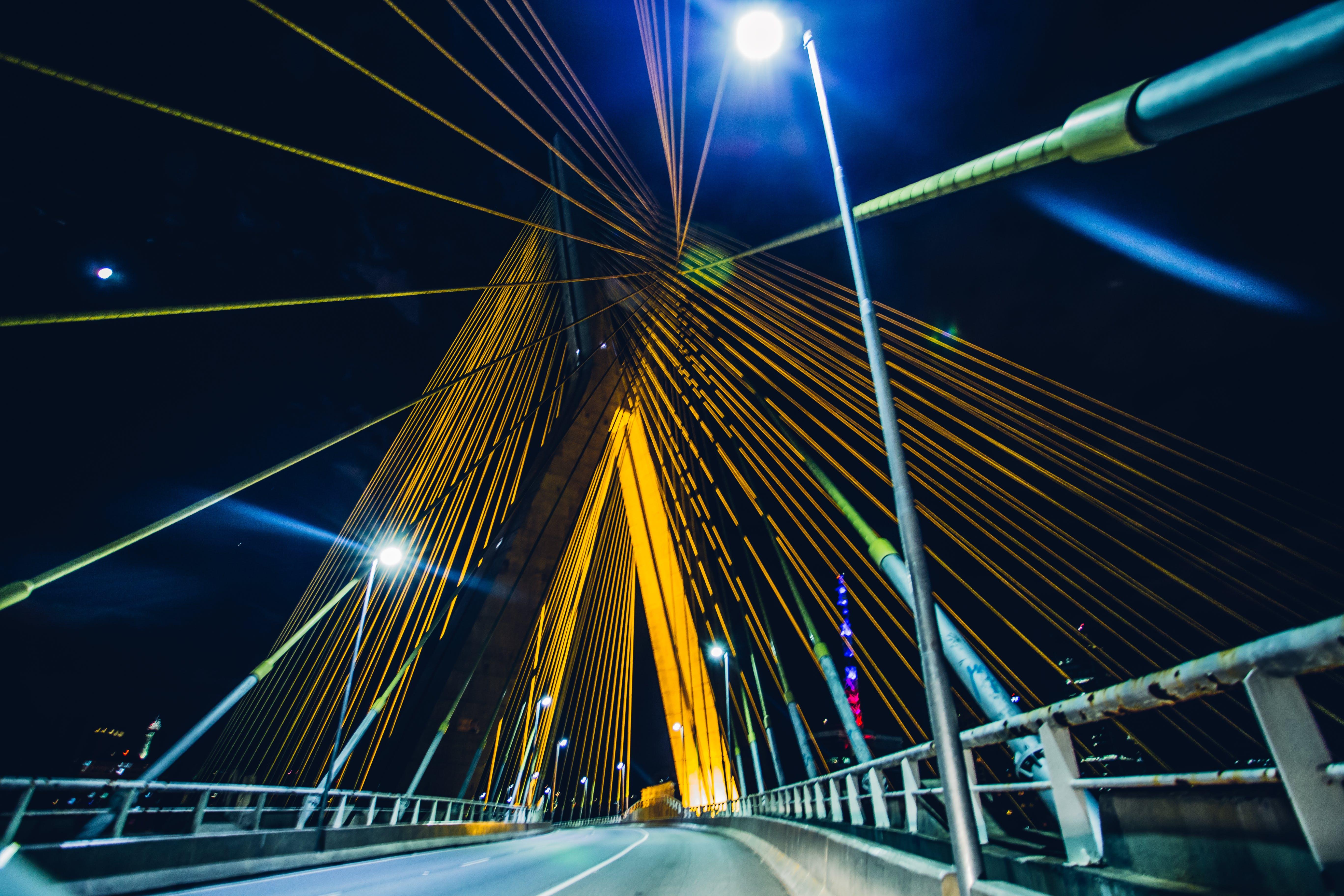 Kostnadsfri bild av bro, design, färger, förbindelse