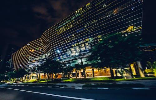 가벼운, 거리, 건축, 도로의 무료 스톡 사진