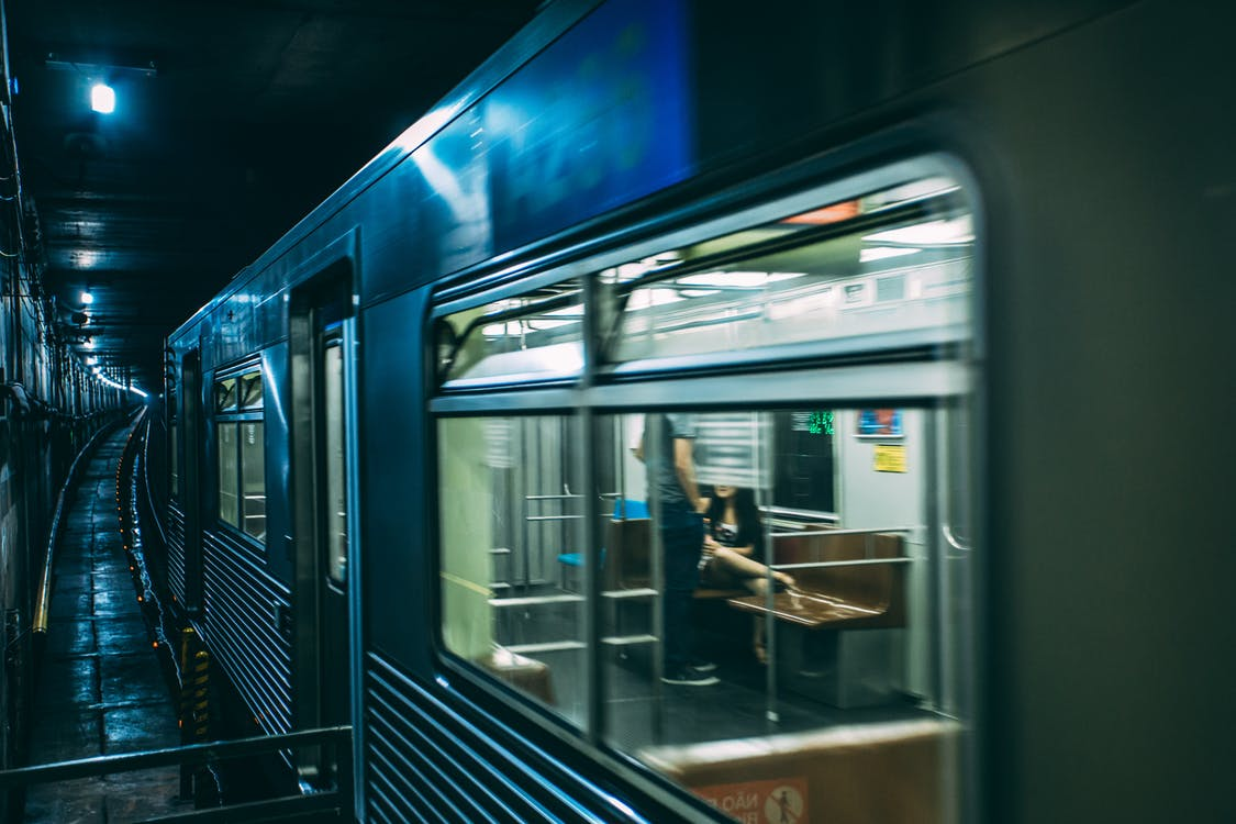 Train on Tunnel