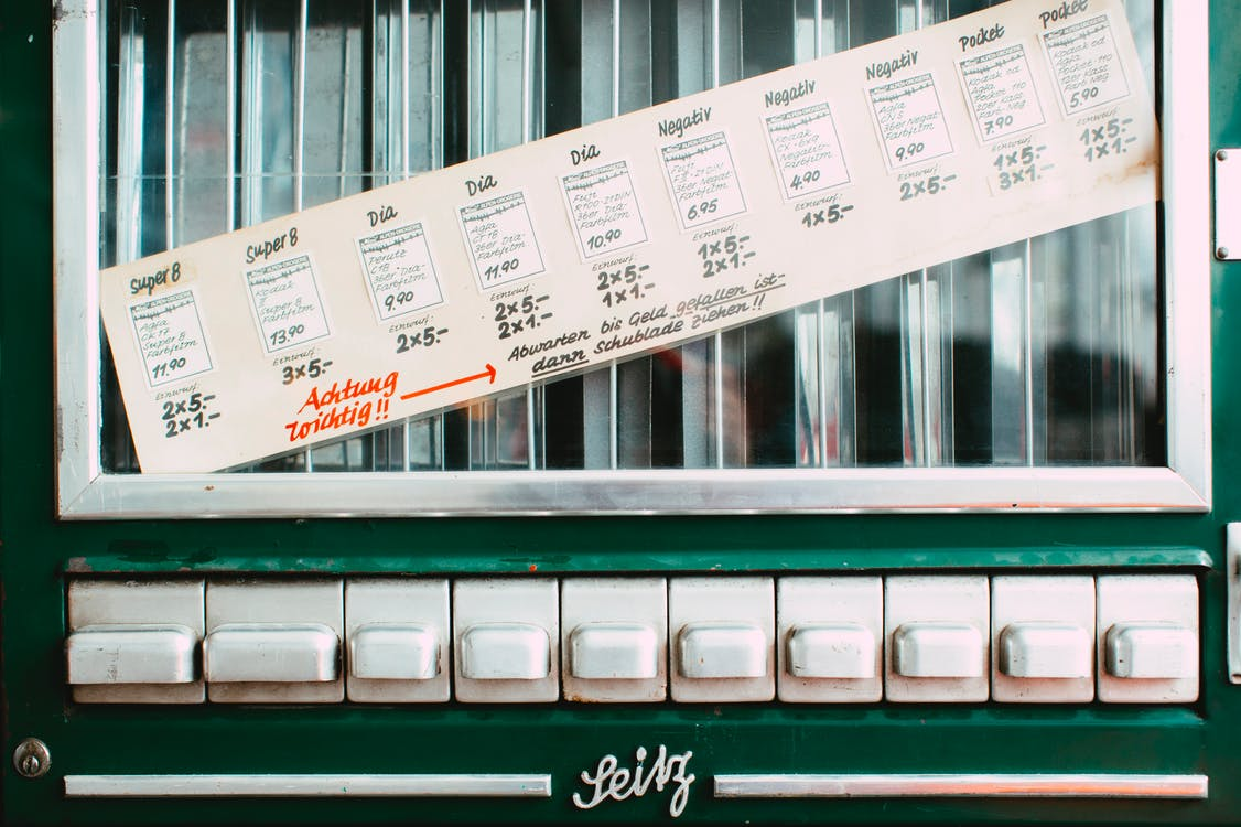 Free stock photo of 50s, automat, automatic