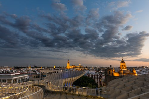 Free stock photo of aerial view, andalusia, architecture