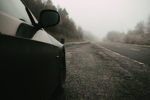 Photos gratuites de beau paysage, BMW, brouillard