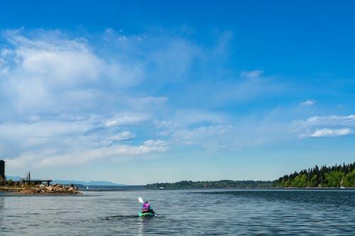 Free stock photo of boat, canoe, lake