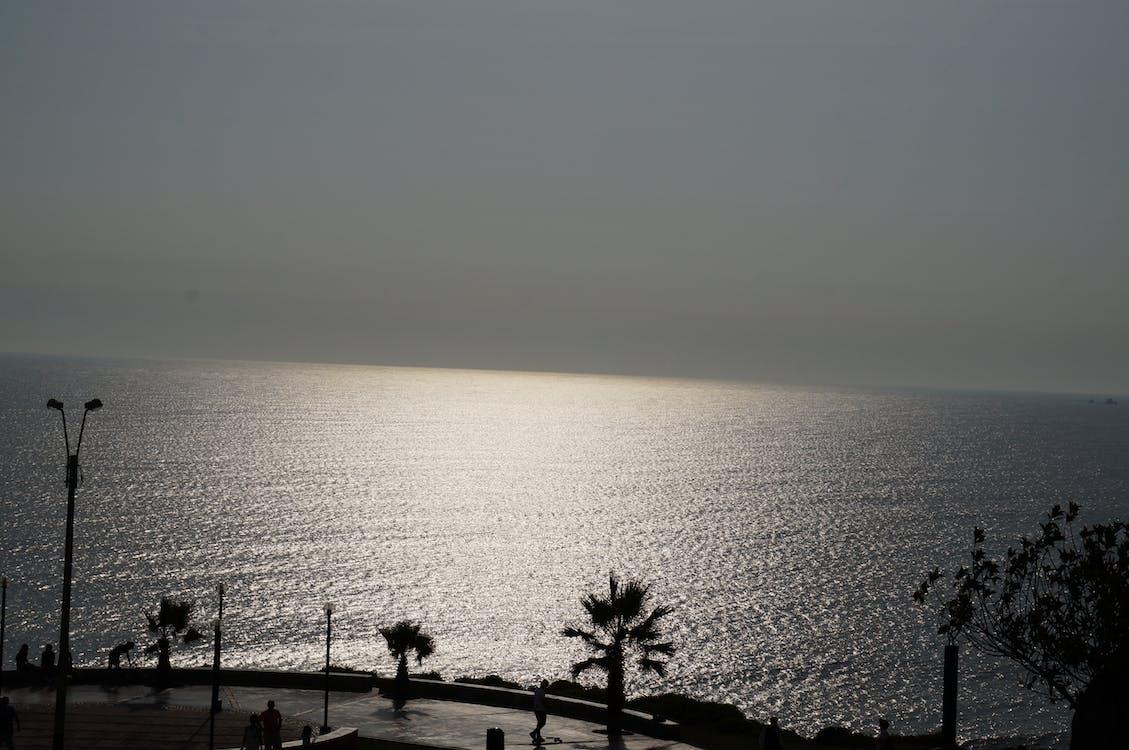 Free stock photo of beach, horizon, peru