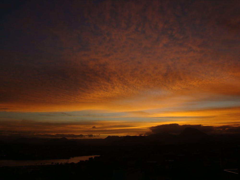Free stock photo of evening sun, golden sun, sky