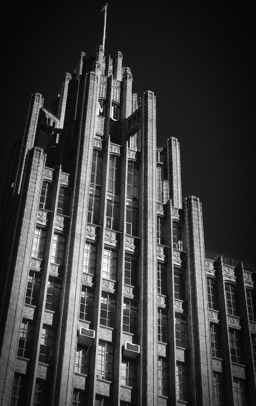 Foto profissional grátis de alto, arquitetura, arranha-céu
