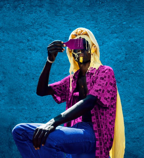 Free stock photo of adult, aesthetics, african print