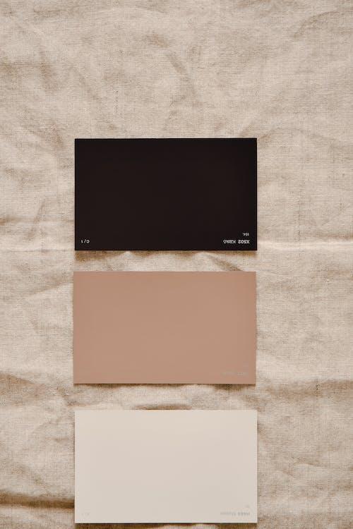 Brown and White Rectangular Frame