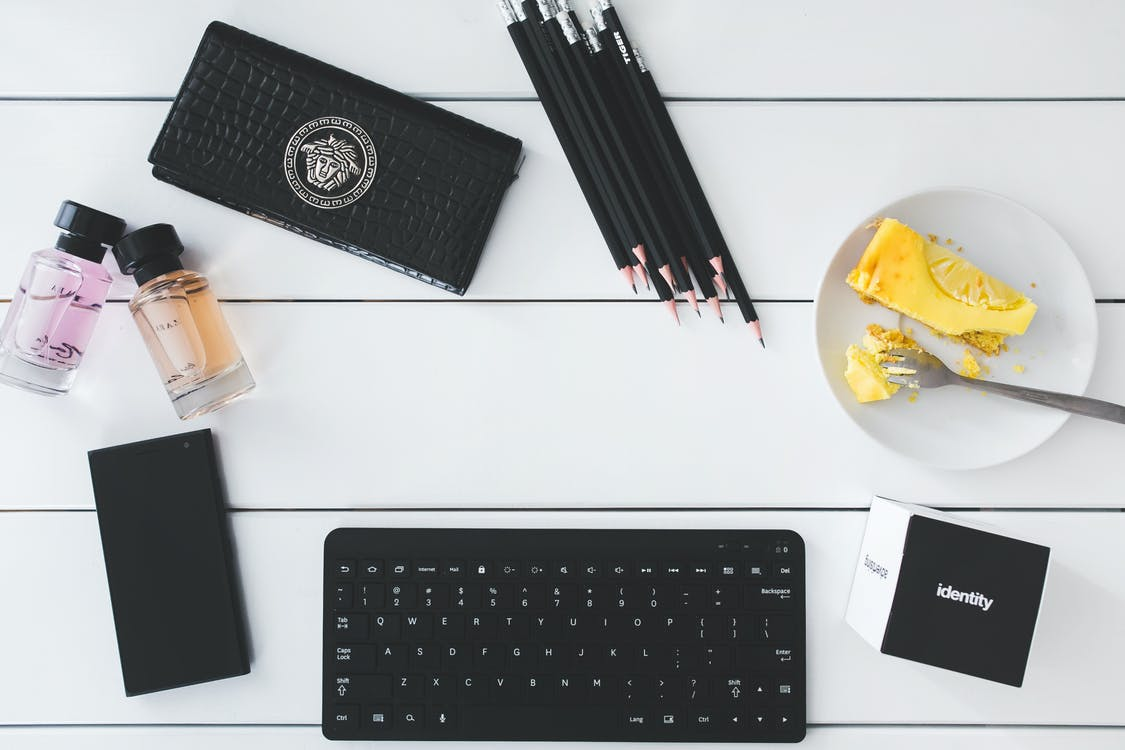 ceruzky, kancelária, klávesnica
