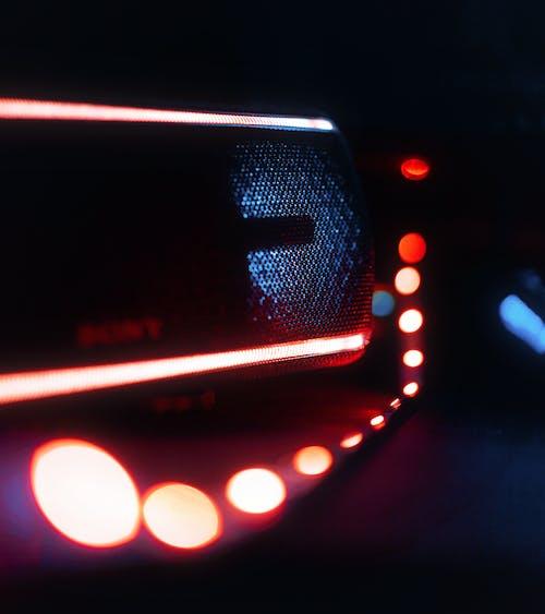 Бесплатное стоковое фото с громкий динамик, световой эффект, светодиодные лампы, цвет