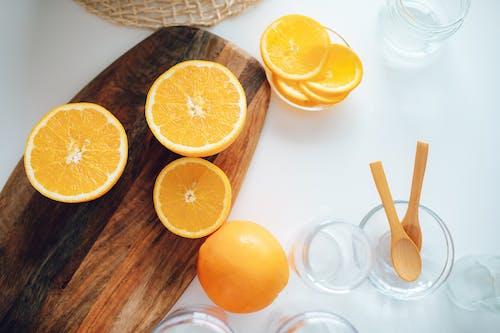 Kostnadsfri bild av apelsinjuice, bord, citron, citrus-