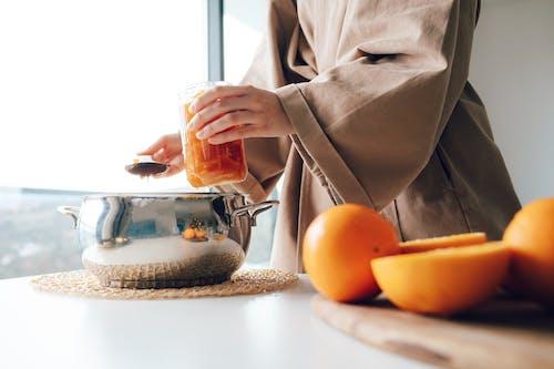 Immagine gratuita di affettato, arancia, arancione