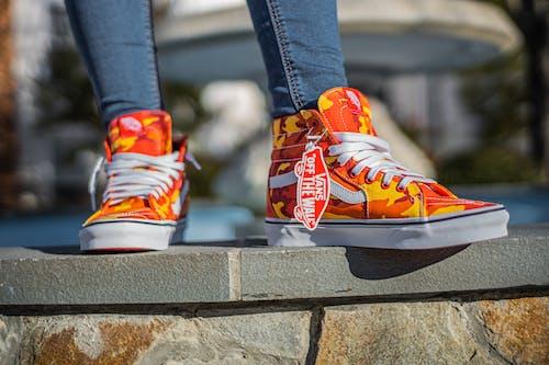 Immagine gratuita di arancia, arancione, calzature