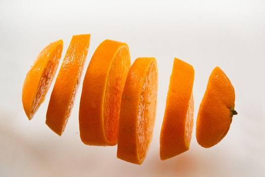 Kostenloses Stock Foto zu essen, orange, frucht, scheiben