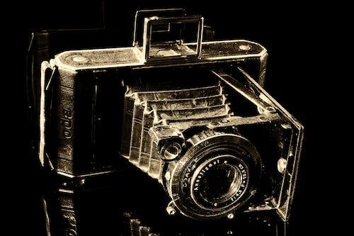 롤 필름 카메라, 반사, 발덴 카메라, 빈티지의 무료 스톡 사진
