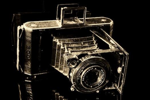 Black Vintage Camera