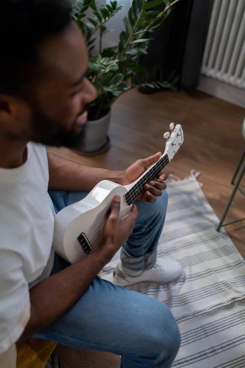 四弦琴, 垂直拍摄, 弦樂器 的 免费素材图片