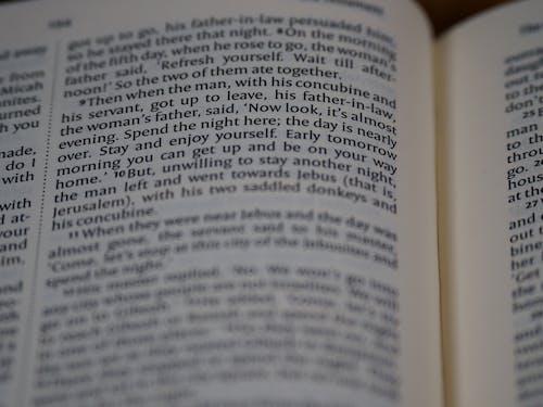 Fotobanka sbezplatnými fotkami na tému Biblia, blízko zaostrenia, bokeh, Canon