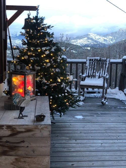 Free stock photo of cabin, christmas, cold