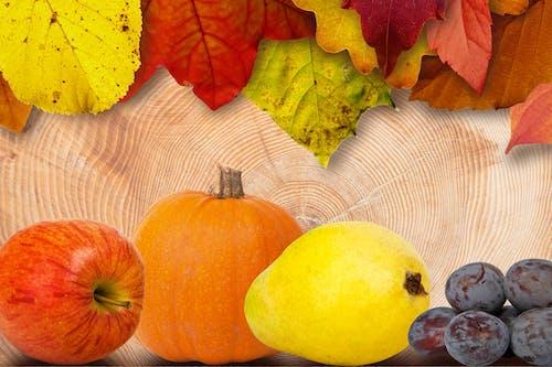 Gratis lagerfoto af æble, frugter, græskar, mad