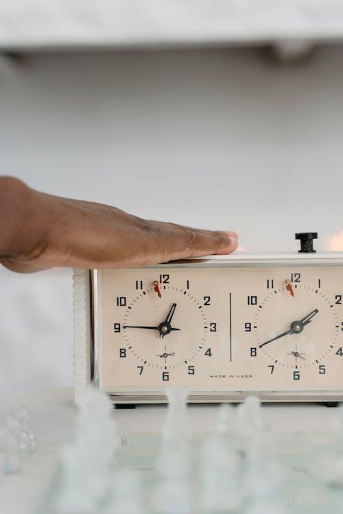 Free stock photo of adult, alarm clock, analogue
