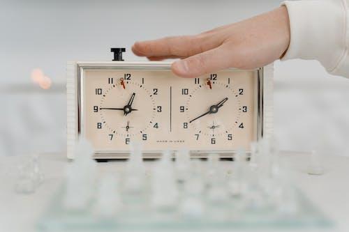 Free stock photo of alarm clock, Analogue, black