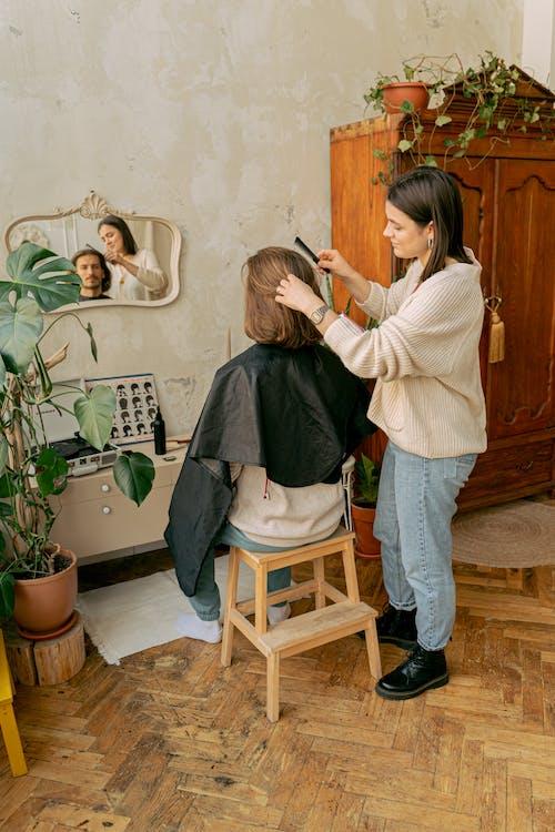 Darmowe zdjęcie z galerii z brodaty, fryzjer, fryzura