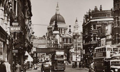 Kostnadsfri bild av arkitektur, centrala london, gamla byggnader